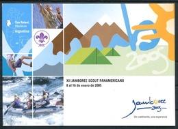 XII JAMBOREE SCOUT PANAMERICANO ENERO 2005 SAN RAFAEL MENDOZA ARGENTINA POSTAL CPA POSTALE TBE NEW NEUVE NUEVO - LILHU - Movimiento Scout
