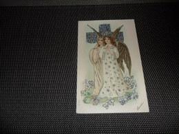 Anges ( 89 )  Ange  Engelen  Engel  Carte Gaufrée  Reliëf - Anges