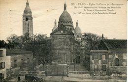 CPA - PARIS -  EGLISE SAINT-PIERRE-DE-MONTMARTRE (1927) - Churches