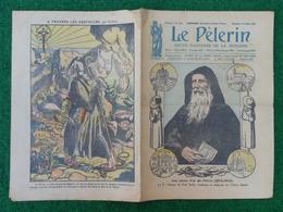 Revue Illustrée Le Pèlerin - Juillet 1923 - Les Noces D'or Du Pèlerin - Arrivée à La Montagne Du Cinquantenaire - Journaux - Quotidiens