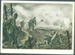 WW2 Wehrmachts Postkarten Pionier Stosstrupp Armée Allemande Militaria - War 1939-45