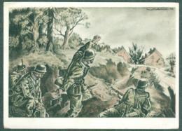 WW2 Wehrmachts Postkarten Pioniere Als Sperrenbrecher Armée Allemande Militaria - War 1939-45