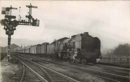 090719B - TRANSPORT TRAIN CHEMIN DE FER - PHOTO HERMANN - OUEST - D - Stations With Trains