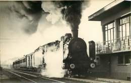090719B - TRANSPORT TRAIN CHEMIN DE FER - PHOTO HERMANN - OUEST - E - Stations With Trains