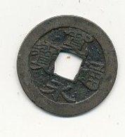 SHOGUNATS 1 MON Cuivre Après 1728  23 Mmm  VOIR SCANS - Japon