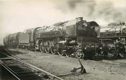 090719B - PHOTO TRANSPORT TRAIN CHEMIN DE FER - EST Loco 241-007 - Stations With Trains