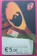 Kosovo CHIP PHONE CARD 5 EURO Operator VALA900. Serial # 00001... *TURKISH INSTRUMENT CIFTELI* R - Kosovo