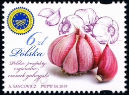 Poland 2019 Fi 4986 Mi 5136 Polish Regional Products - Garlic - Nuevos