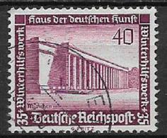 GERMANIA REICH TERZO REICH 1936 SOCCORSO INVERNALE UNIF. 590  USATO VF - Usados