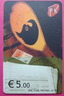 Kosovo CHIP PHONE CARD 5 EURO Operator VALA900. Serial # 0005... *TURKISH INSTRUMENT CIFTELI* - Kosovo