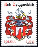 Poland 2019 Fi 4987 Mi 5137 The Tęczyński Family - Nuevos