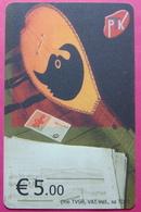 Kosovo CHIP PHONE CARD 5 EURO Operator VALA900. Serial Small # 002... *TURKISH INSTRUMENT CIFTELI* - Kosovo