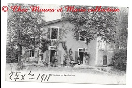 BAYONNE LE GRACHON - PYRENEES ATLANTIQUES - POUR LAMBERT PARIS  - CPA - Bayonne