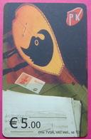 Kosovo CHIP PHONE CARD 5 EURO Operator VALA900. Serial Big # 002... *TURKISH INSTRUMENT CIFTELI* - Kosovo