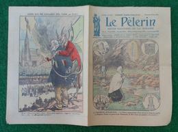 Revue Illustrée Le Pèlerin - Août 1923 - Lourdes - La Première Apparition - La Procession Du Saint-Sacrement - Journaux - Quotidiens