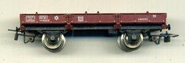 Wagon Petit Plat  Jouef ,  Complet - Wagons Marchandises