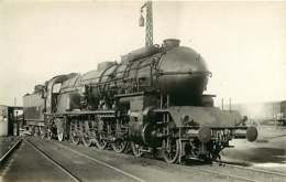 090719C - PHOTO VILAIN - TRANSPORT TRAIN CHEMIN DE FER - VILLENEUVE Cheminot - Bahnhöfe Mit Zügen