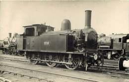 090719C - PHOTO VILAIN - TRANSPORT TRAIN CHEMIN DE FER - Loco 30-160 - Gares - Avec Trains