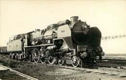 090719C - PHOTO VILAIN - TRANSPORT TRAIN CHEMIN DE FER - LE LANDRY 3.1282 - Stations With Trains