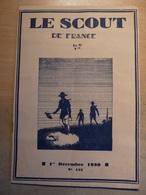 Revue Scout De France 122 1930 Messe Vignemale Marin Pampold  Vie En Régions - Libri, Riviste, Fumetti