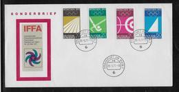 Thème Jeux Olympiques -  Munich 1972 - Sports - Enveloppe - Summer 1972: Munich
