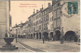 REMIREMONT - Les Arcades - Remiremont