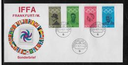 Thème Jeux Olympiques -  Mexique 1968 - Sports - Enveloppe - Estate 1968: Messico