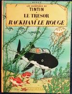 Hergé - Les Aventures De Tintin ( 12 ) - Le Trésor De Rackham Le Rouge - Casterman - ( 1966 ) . - Tintin