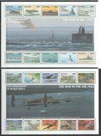 V122  GUYANA 50TH ANNIVERSARY WORLD WAR II WWII AT SEA  & IN THE AIR !!! 2SH MNH - WW2 (II Guerra Mundial)