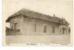 CPA 63 PIONSAT LA GARE Abimee - France