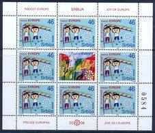 SRB 2008-263 JOY OF EUROPE, SERBIA, MS, MNH - Kind & Jugend