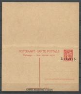 Estland Estonia 1928/29 Postal Stationery Mit Antwortteil With Response Part Ganzsache Sauber Ungebraucht/unused - Estland