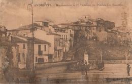 ANDRETTA ( Avellino) - Monumento A F. Tedesco In Piazza De Sanctis - Avellino