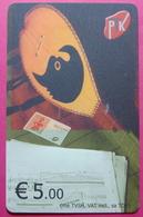 Kosovo CHIP PHONE CARD 5 EURO Operator VALA900. Serial # 005... *TURKISH INSTRUMENT CIFTELI* - Kosovo