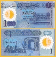 Libya 1 Dinar P-new 2019 Commemorative UNC Polymer Banknote - Libia