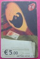 Kosovo CHIP PHONE CARD 5 EURO Operator VALA900. Serial Big # 006... *TURKISH INSTRUMENT CIFTELI* - Kosovo