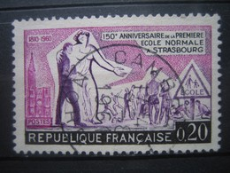 FRANCE    N° 1254 - OBLITERATION RONDE - Francia