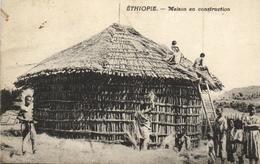 Ethiopie - Maison En Construction - Ethiopia