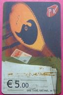 Kosovo CHIP PHONE CARD 5 EURO Operator VALA900. Serial # 008... *TURKISH INSTRUMENT CIFTELI* - Kosovo