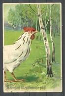 Estland Estonia RUSSLAND Imperial Russia 1906 Osterkarte Easter Post Card O Revel Reval - Ostern