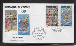 Thème Jeux Olympiques - Djibouti 1983 - Sports - Enveloppe - Sonstige