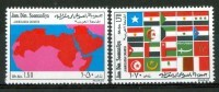 1974 Somalia 30° Anniversario Della Lingua Araba Maps Flags Set MNH** - Somalia (1960-...)