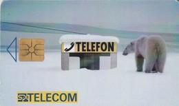 REPUBLICA CHECA. Polar Bear. C161C, 53/08.96. (187). - Tarjetas Telefónicas