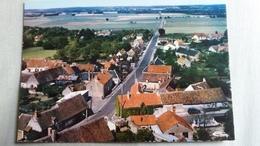 CPSM GENOUILLY CHER VUE AERIENNE ROUTE DE THENIOUX ED CIM 1977 - France