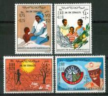 1976 Somalia Soulager La Femme Set MNH** - Somalia (1960-...)