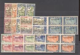 Inini  :  Yv  5...28  **  Blocs De 4 ,  11 Valeurs - Inini (1932-1947)