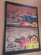 SPI2019 Pour  Collectionneurs  PUBLICITE Années 60/70 : FIGURINES ATLANTIC  Format Page A4 Issu De Revue Tintin 1976 - Militares
