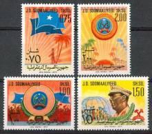 1977 Somalia Anniversario Partito Socialista Set MNH** B494 - Somalia (1960-...)