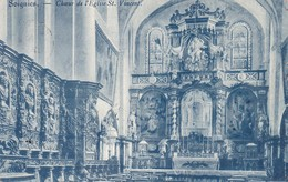 619 Soignies Choeur De L Eglise St Vincent - Soignies