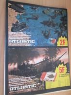 SPI2019 Pour  Collectionneurs  PUBLICITE Années 60/70 : FIGURINES ATLANTIC  Format Page A4 Issu De Revue SPIROU 1976 - Army